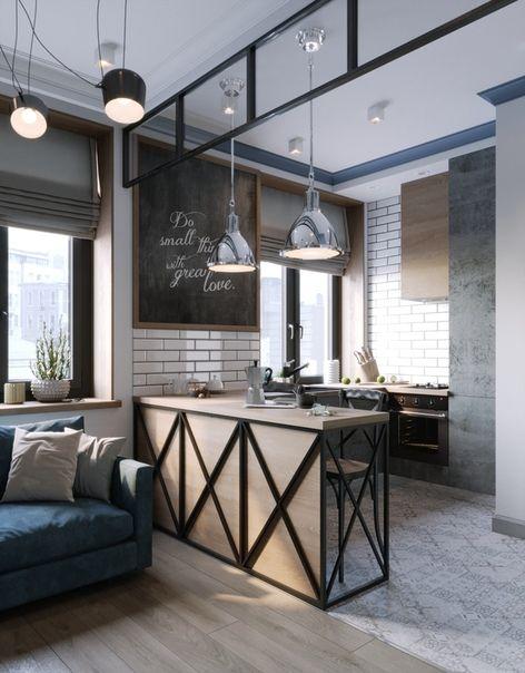 Photo of Квартира-студия / дизайн интерьера