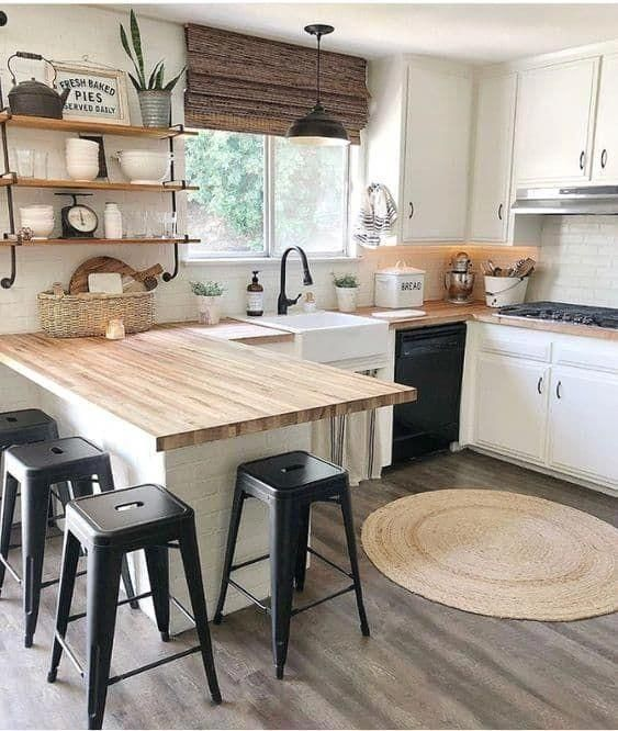 Rustic Kitchens 16 Decoration Ideas For 2018 In 2020 Modern Country Kitchens Rustic Kitchen Kitchen Design Small