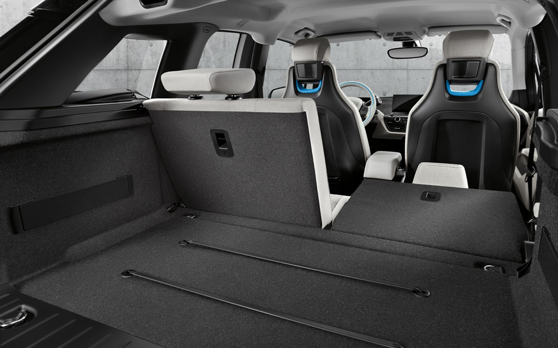 50 50 Spilt Folding Rear Seats For Additional Cargo Space Bmw I3