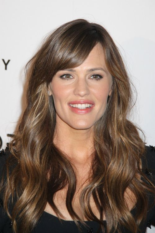 Excellent Jennifer Garner Haircut With Side Fringe Favorite Places Hairstyles For Men Maxibearus