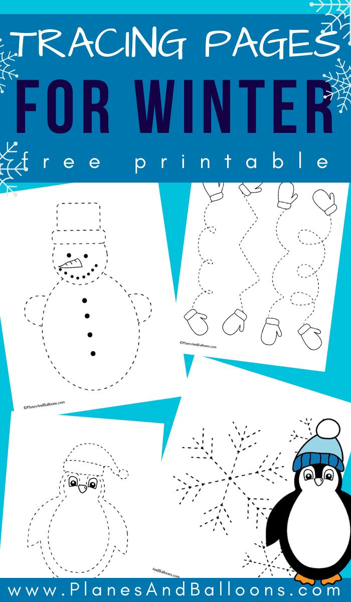 Winter Tracing Sheets In 2020 Winter Activities Preschool Winter Theme Preschool Tracing Worksheets Preschool [ 1200 x 700 Pixel ]