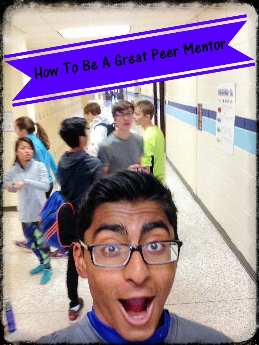 Peer mentors are student leaders who provide