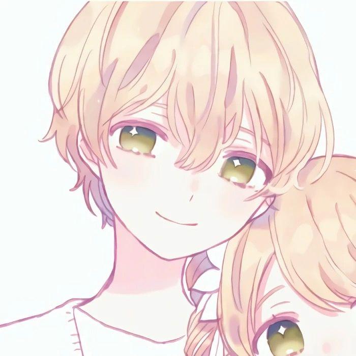 Couple Profile Pic Boy Ilustrasi Karakter Seni Anime Animasi Desain Karakter