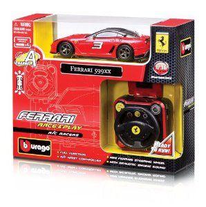 Amazon Com Burago R C Ferrari 599xx Infrared Remote Control Toys Games Ferrari Ferrari Car Remote Control Boats