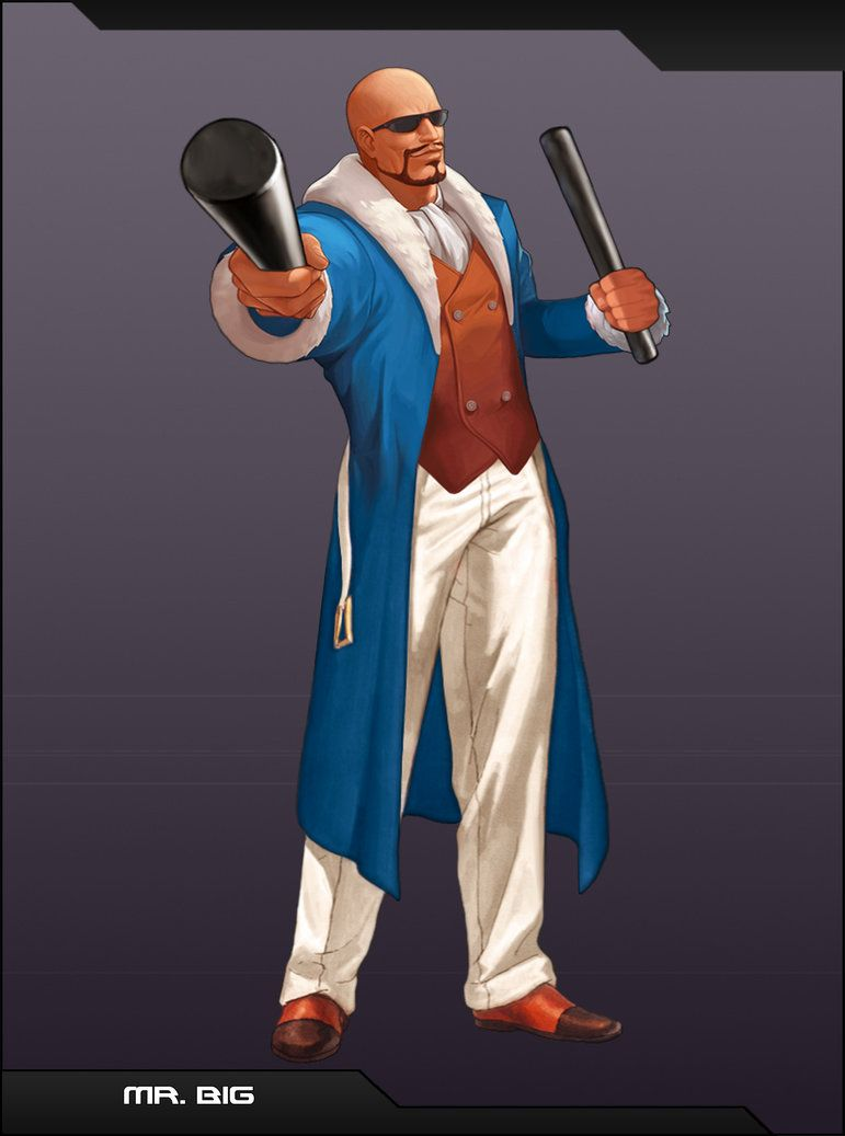 Mr Big By Emmakof King Of Fighters Art Of Fighting Fighter