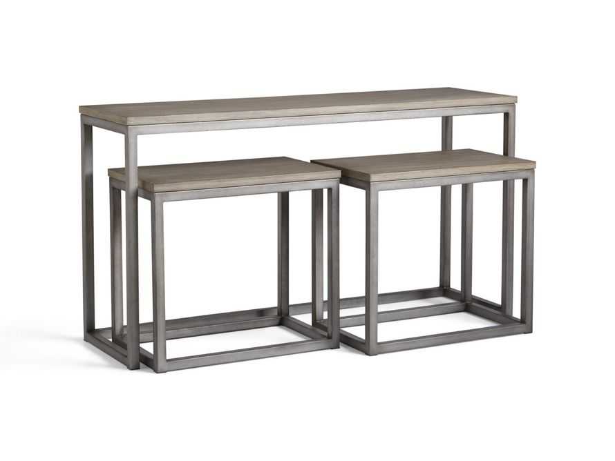 Palmer Nesting Console Table Arhaus Furniture Arhaus Furniture