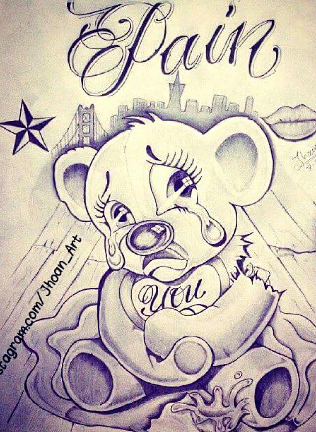 Gangster Love Drawings : gangster, drawings, KimmiehartjeRaymond, Vooraltijd, ⭐Drawings, Chicano, Drawings,, Gangster, Badass, Drawings