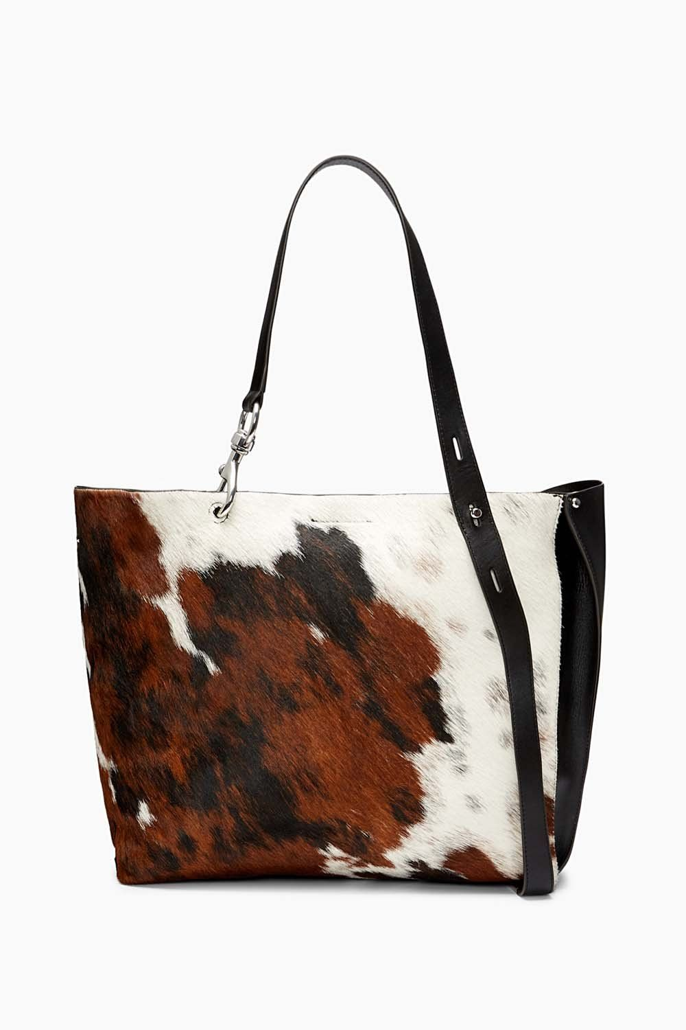 Details about  /Chocolate Brown Leather Women/'s Tote Bag Day Bag More colors