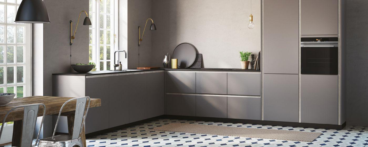tinta grey - elegante en eenvoudige keuken - kvik.nl | tinta