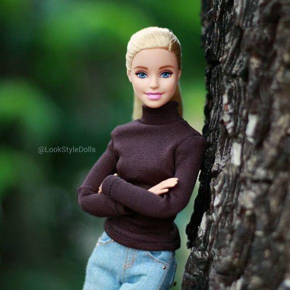1874 ??????? ???????? 14 ????????????  Look Style Dolls (@lookstyledolls) ? Instagram:  #Barbie #BarbieStyle #Cloudyday #doll #barbie #doll