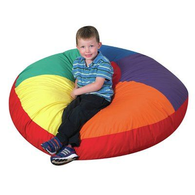 Swell Childrens Factory Color Wheel Bean Bag Chair Size 7 H X Alphanode Cool Chair Designs And Ideas Alphanodeonline