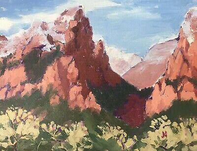 James Baldoumas 2017 Landscape Oil Painting on Canvas