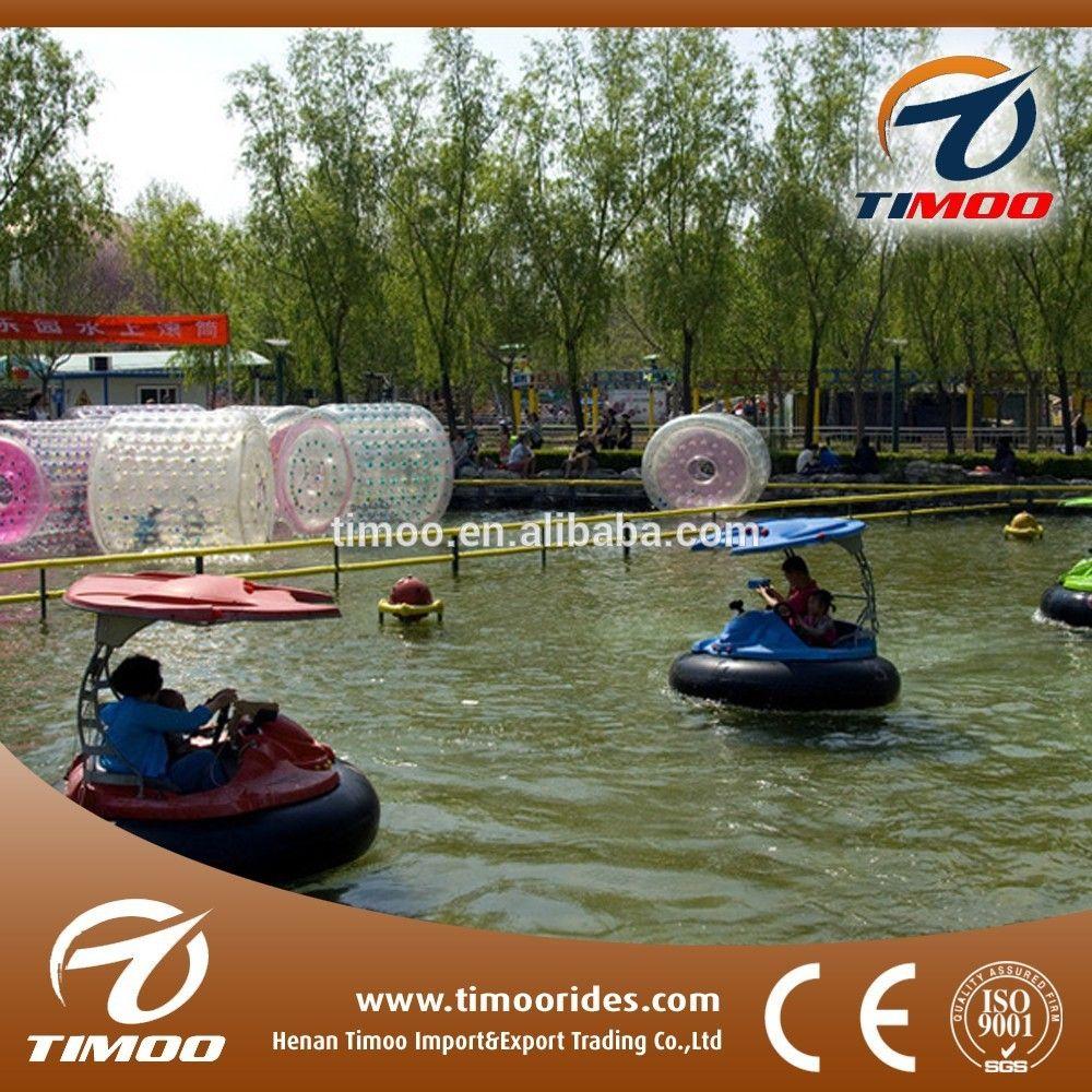 Water Bumper Boats | Water park amusement rides inflatable electric battery aqua bumper ...