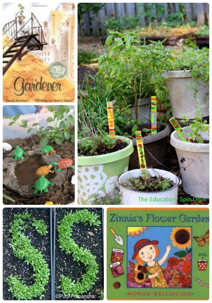 30 Gardening Ideas for Kids | Craft activities, Activities and Gardens