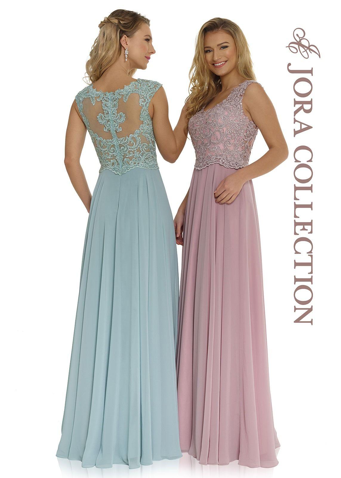 Abendkleider in Pastelltönen in 13  Glamouröse abendkleider