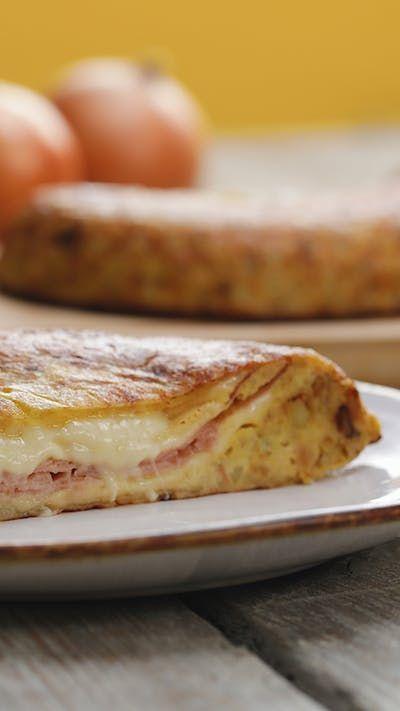Tortilla Española Rellena ~ Receta