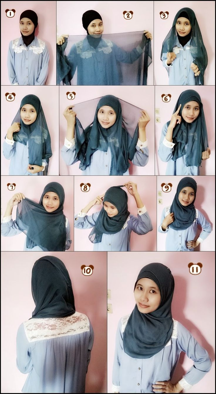 Lace Htutorial Hijab Paris Segi Empat Tutorial Hijab Paris Segi