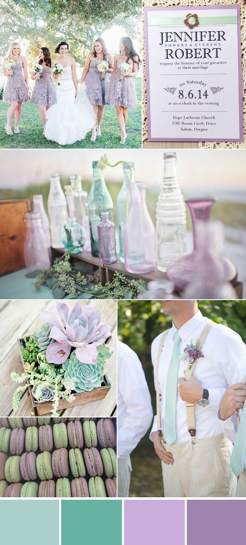 Wonderful Mint Wedding Color Ideas With Elegant Wedding Invites ...