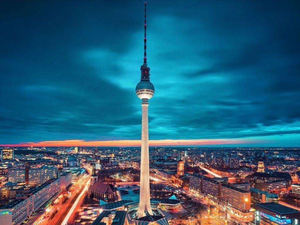 Television Tower Berlin Wallpapers Berlin City Berlin Travel