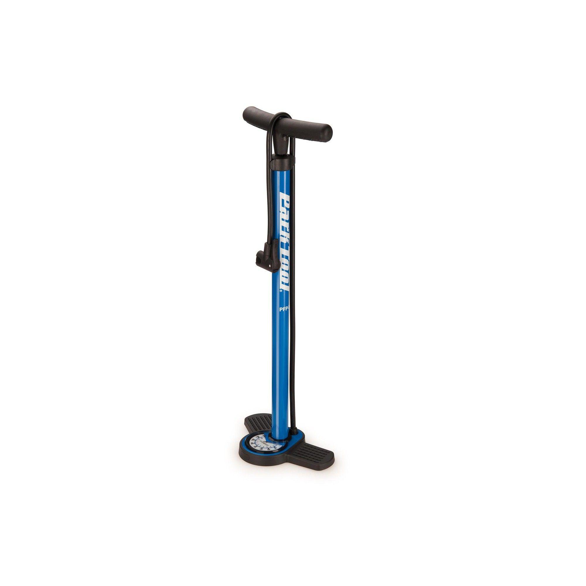 Blue//Black PFP-8 Park Tool PFP-8 Home Mechanic Floor Pump