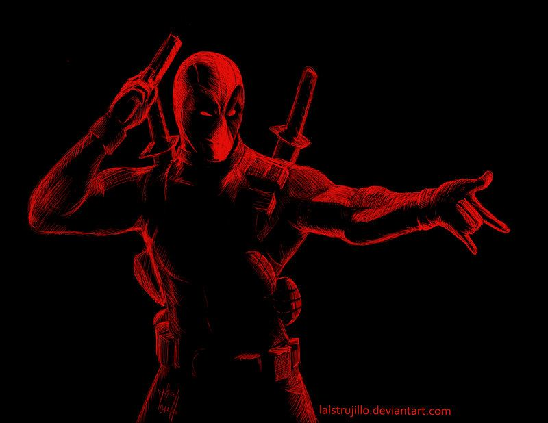 #Deadpool #Fan #Art. (Deadpool) By: Redtrujillo. (THE * 5 * STÅR * ÅWARD * OF: * AW YEAH, IT'S MAJOR ÅWESOMENESS!!!™)[THANK U 4 PINNING!!!<·><]<©>ÅÅÅ+(OB4E)     https://s-media-cache-ak0.pinimg.com/564x/ec/5a/c0/ec5ac07488cc367c38c9c86f122b0fd5.jpg