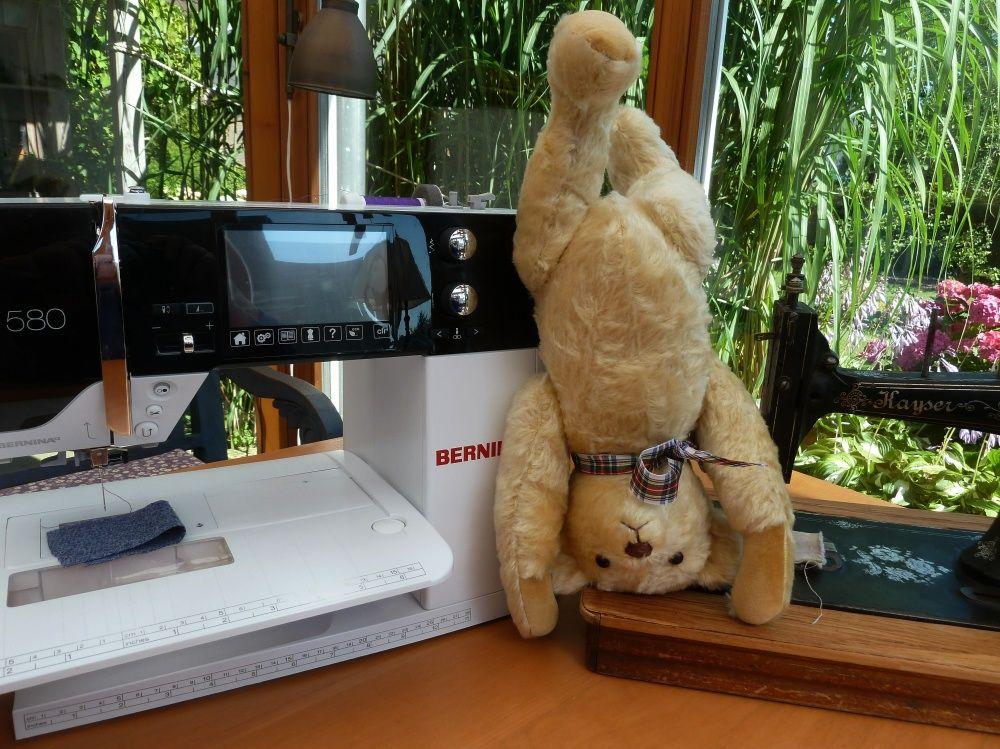 Wir nähen einen Original-Teddy! In diesem Artikel findet Ihr ein ...