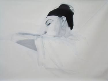 "Saatchi Art Artist Myriam Dib; Painting, ""Relax"" #art"