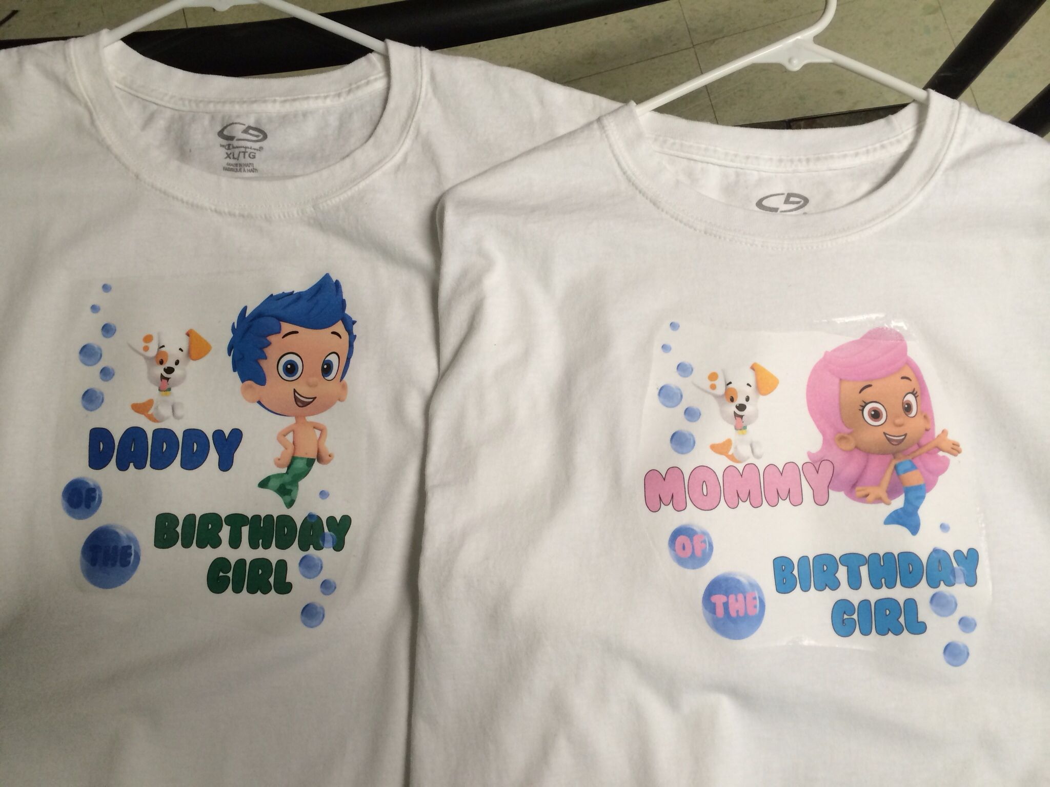 boy or girl bubble guppies shirt Bubble guppies birthday shirt