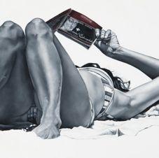 Immersion, 120 x 120cm, 2011 Marta Penter
