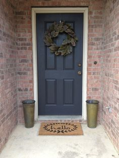Outside Front Door Decor Curb Appeal