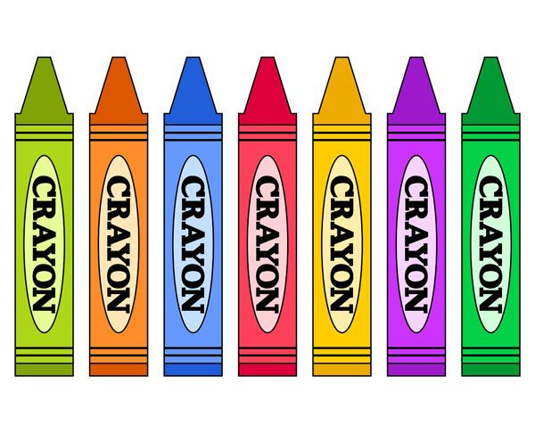 crayons clipart 2 clipart pinterest crayons rh pinterest com crayons clipart border crayons clipart gif