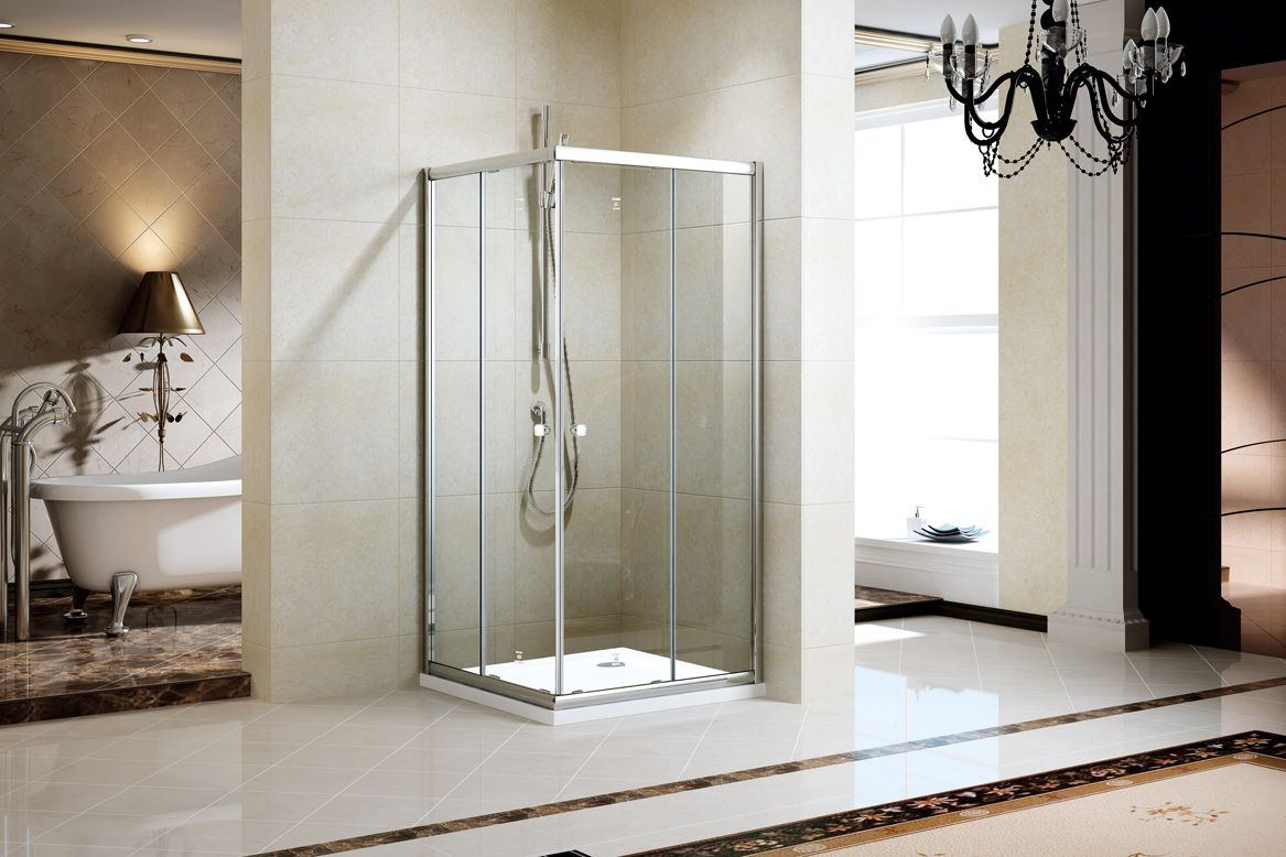 Ladder Style Shower Handles Fit In Modern Contemporary Bathroom Decor While Adding F Shower Door Handles Contemporary Bathroom Decor Bathroom Design Concepts