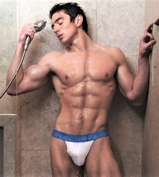 Think, that gay man shower underwear for