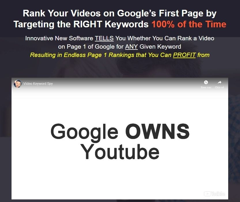 Use The Limited Time Only Video Keyword Spy Pro 2019 Discount Code Above And Get A Special 60 Off Your Next Purchase Of Video Keywo Coding Told You So Video