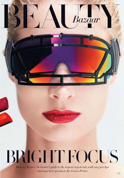 The Beauty Model  Highlight Description Melissa Tammerijn by Victor Demarchelier for Harpers Bazaar.