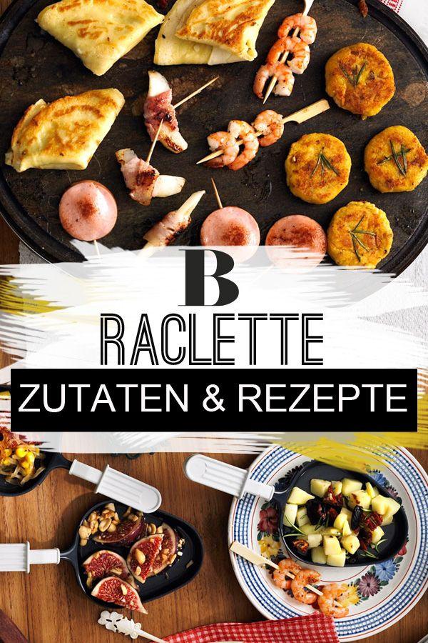 Raclette: Zutaten und Rezepte. An langen Winterabenden gibt es kaum etwas Schöneres, als stundenlang mit Freunden und Familie beim Raclette zusammenzusitzen und in guter Gesellschaft gemeinsam zu genießen. #raclette #silvester #weihnachten