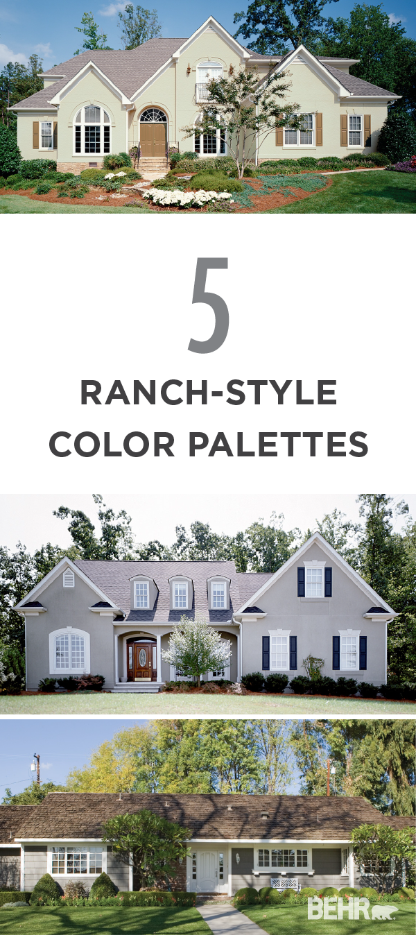 Looking to update your ranch-style home with a new exterior paint ...