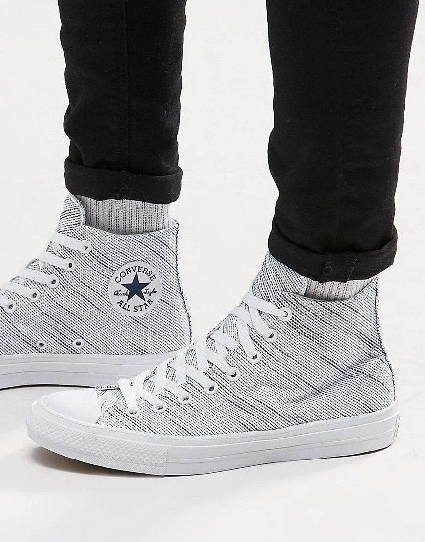 Converse Chuck Taylor All Star II Knit Hi Top Plimsolls