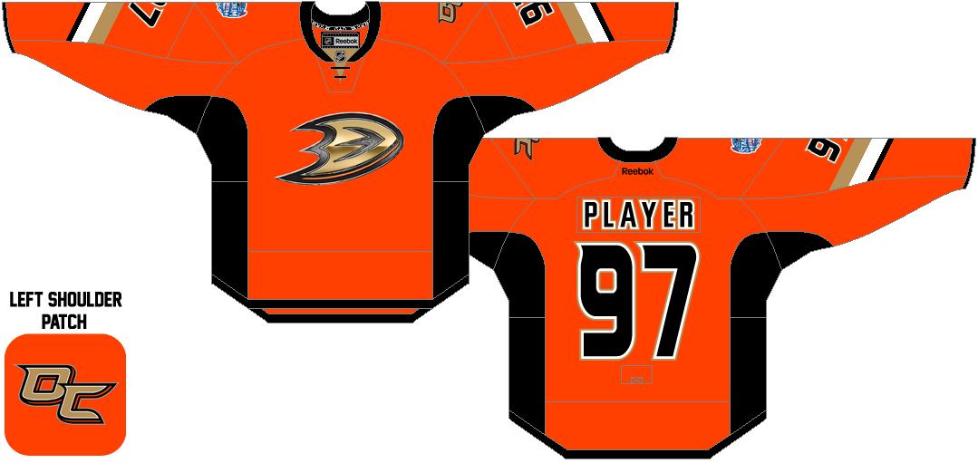 buy popular 08028 56cd2 Anaheim Ducks Special Event Uniform (2014) - Anaheim Ducks ...