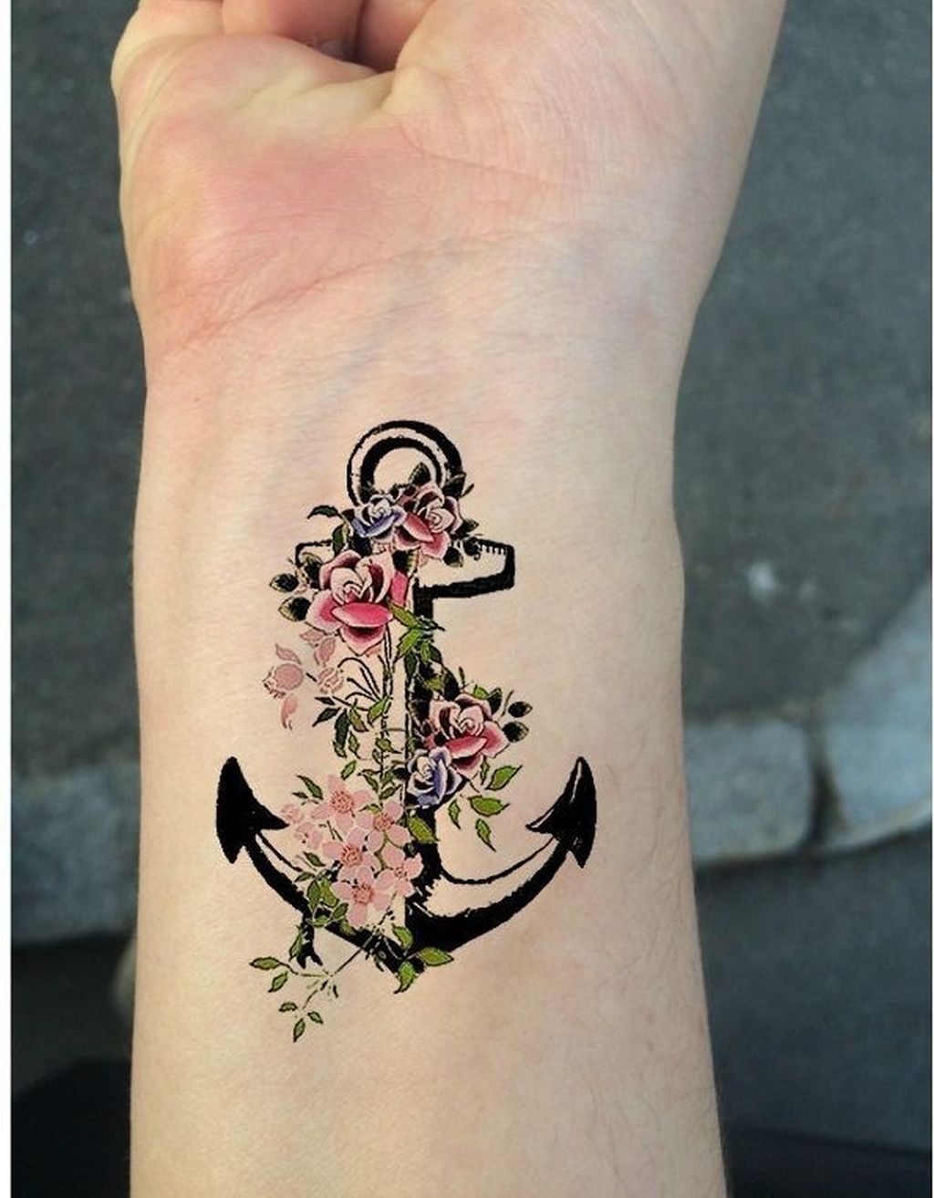 32 Cool Anchor Tattoos Design Ideas For Women In 2020 Tattoos For Women Anchor Tattoo Design Tattoo Designs