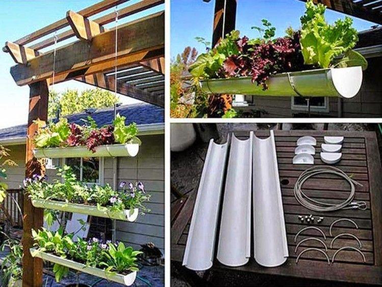 10 macetas elaboradas con material reciclado tu ola for Casas de plastico para jardin