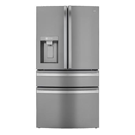 Kenmore Elite 72695 29 5 Cu Ft 4 Door Smart French Door Refrigerator Fingerprint Resistant Stainl In 2020 French Door Refrigerator Kitchen Appliances Kenmore Elite