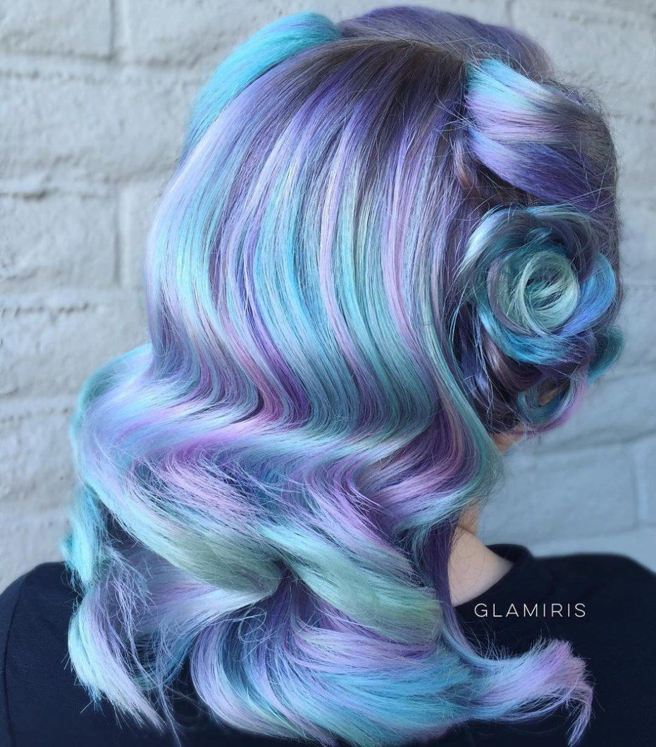 30 Icy Light Blue Hair Color Ideas For Girls With Images Light