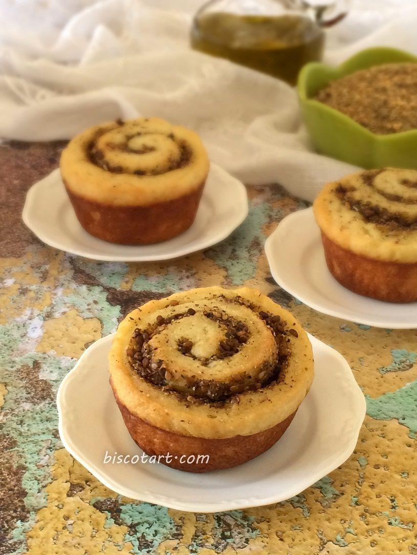 فطائر رول بالفليفلة و الزعتر الحلبي Food My Recipes Baking