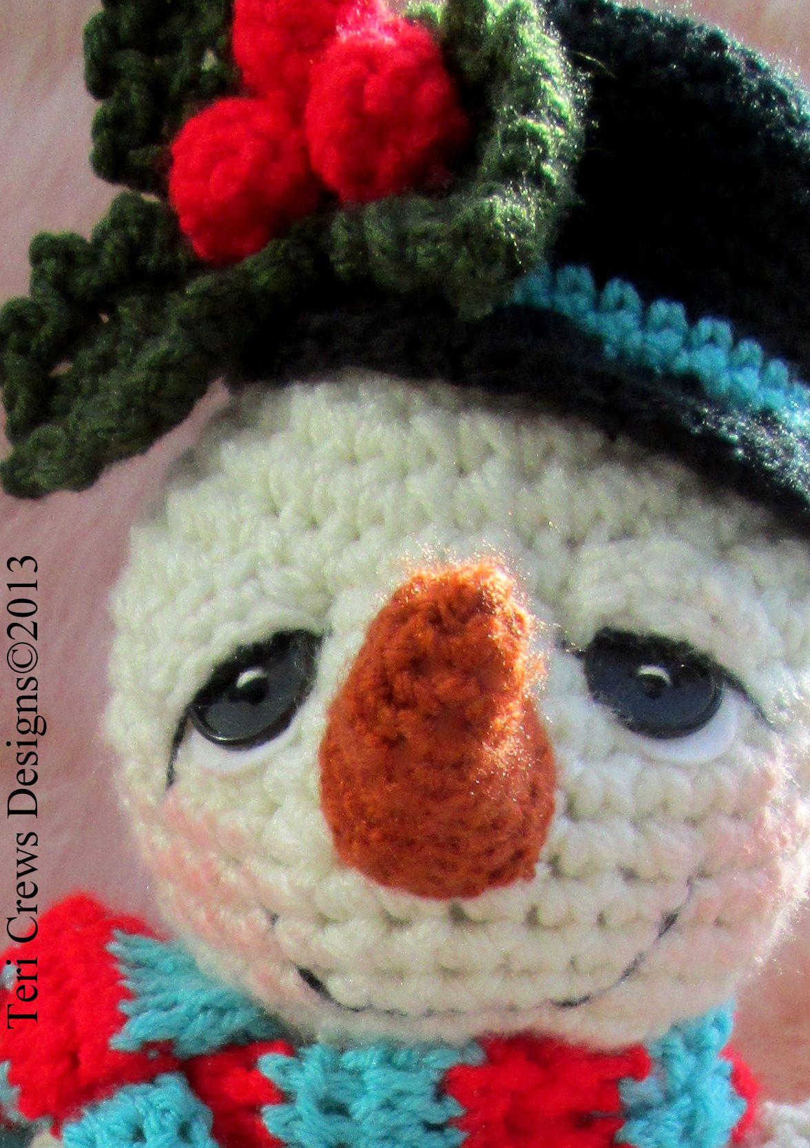 Snowman Crochet Pattern Oogjes Pinterest Breien Haken En