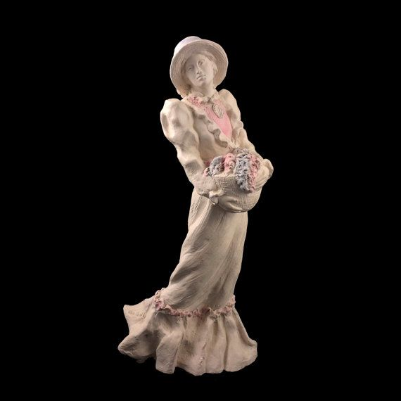 Vintage Margaret Victorian Statue by Alice Heath for Austin ...