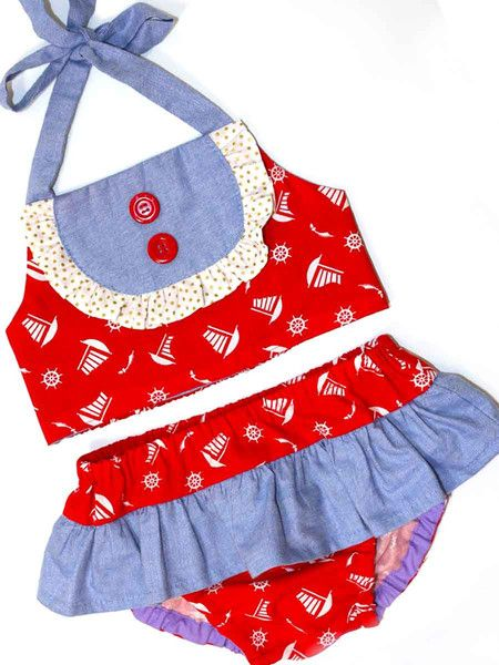 BIRDIE - Baby & Toddler Swimsuit Sewing Pattern