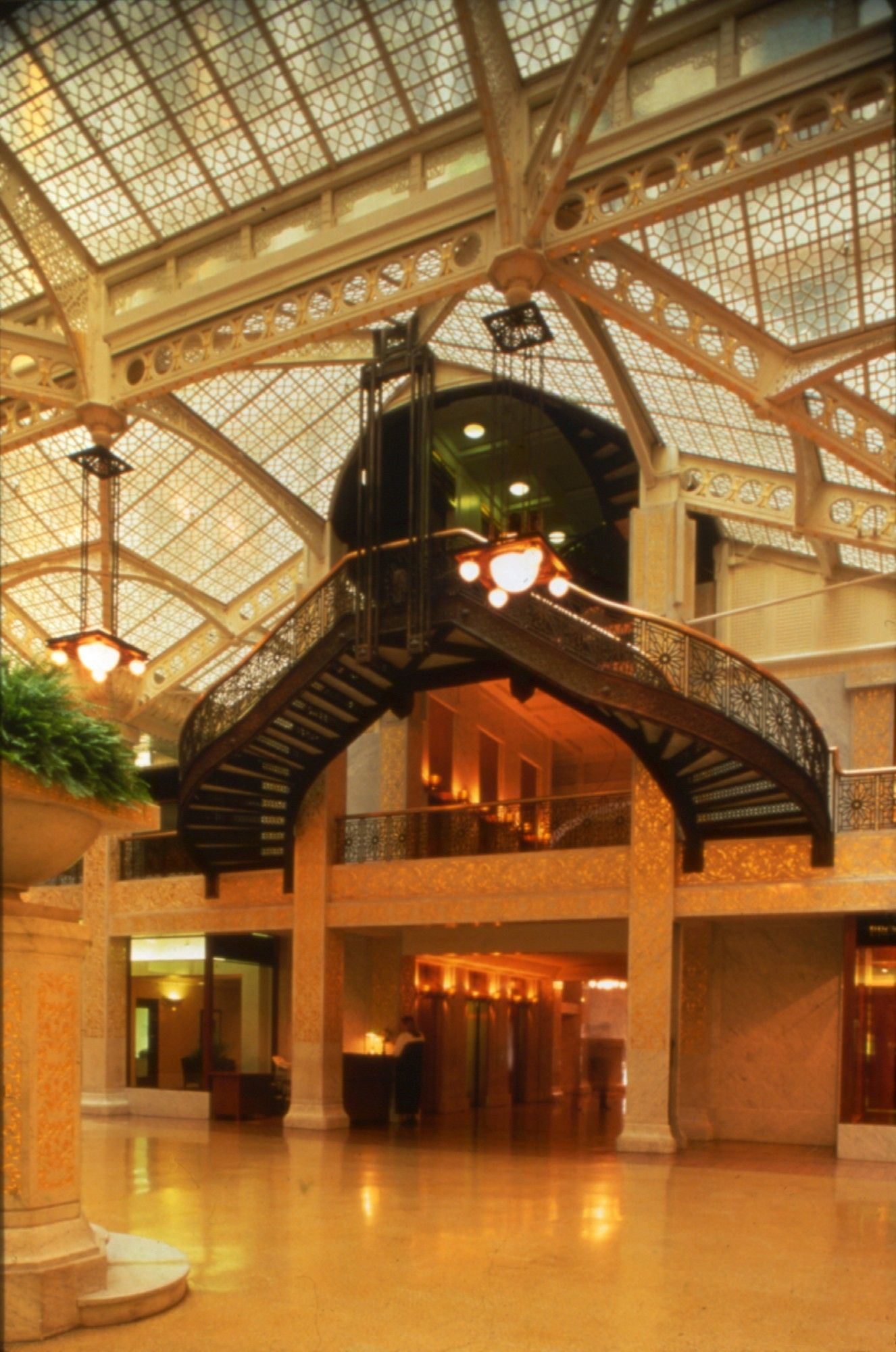 The Rookery Rookery, Architecture, Building