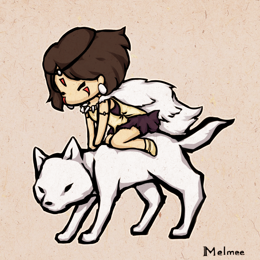 Princess Mononoke by Melmee.deviantart.com on @deviantART