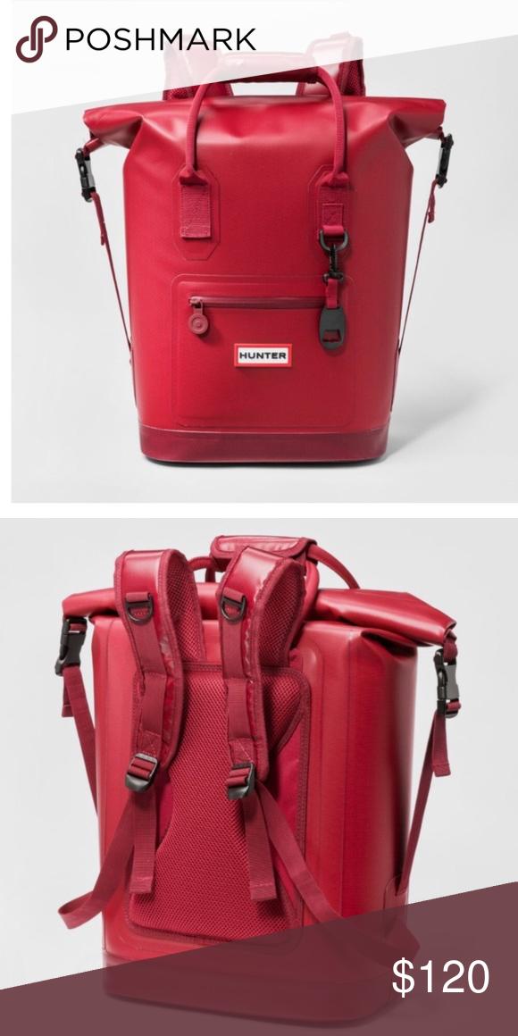 Nwt Hunter For Target Cooler Backpack Brand New With Tags Hunter Bags Backpack Brands Bags Cool Backpacks